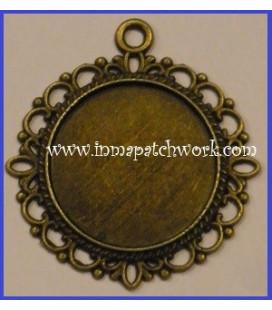 Colgante circular II Oro Viejo